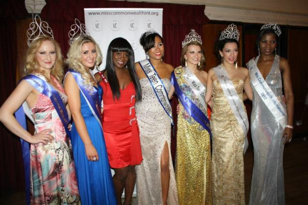 Miss Commonwealth International 2012 and Queen of Friends